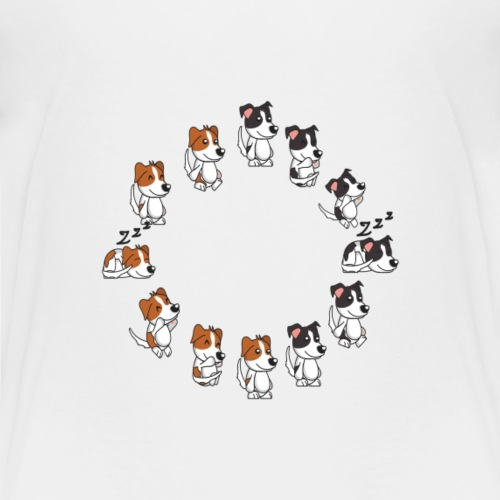 all dogs - Toddler Premium T-Shirt