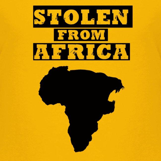 STOLEN FROM AFRICA LOGO