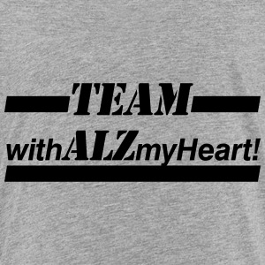 Team withALZmyHeart - Toddler Premium T-Shirt