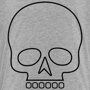 Skull outline - Toddler Premium T-Shirt