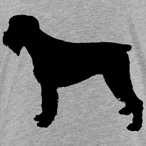 Vector dog Silhouette - Toddler Premium T-Shirt