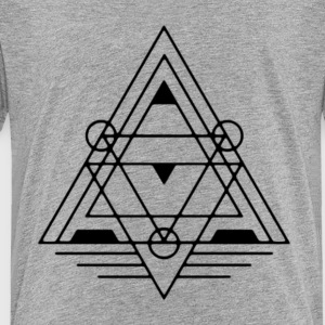 Triangle-Symbol - Toddler Premium T-Shirt