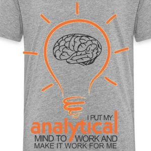 ANALYTICAL MIND - Toddler Premium T-Shirt