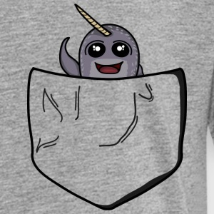 Narwhal Pocket Buddy - Toddler Premium T-Shirt