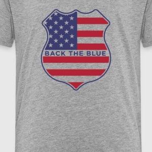 Back the blue - Toddler Premium T-Shirt