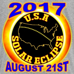 2017 USA Total Solar Eclipse Star Gaze August 21st - Toddler Premium T-Shirt