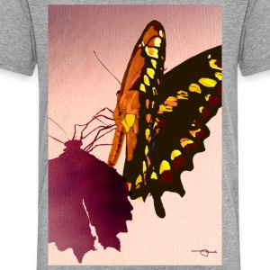 BUTTERFLY ON WOOD - Toddler Premium T-Shirt