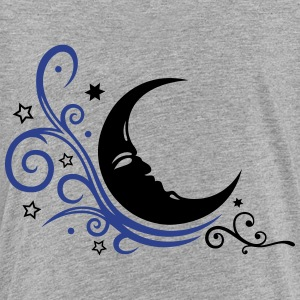 Large moon with Tribal and stars. - Toddler Premium T-Shirt