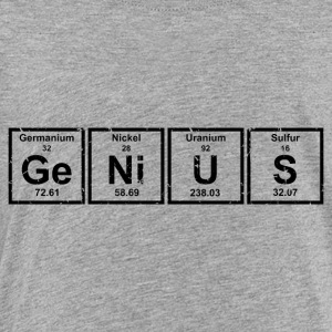 Genius (Periodic Elements) - Toddler Premium T-Shirt