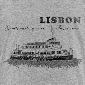 Lisbon - Gently curling waves Tagus river - Toddler Premium T-Shirt
