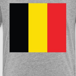 Flag of Belgium Cool Belgian Flag - Toddler Premium T-Shirt