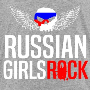 RUSSIAN GIRLS ROCK - Toddler Premium T-Shirt