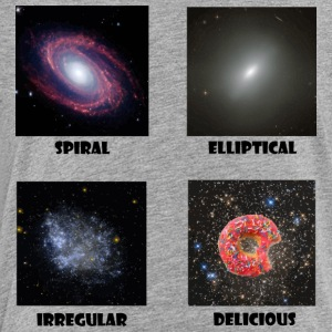 types of Galaxies - Toddler Premium T-Shirt