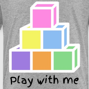 Play With Me (version black) - Toddler Premium T-Shirt
