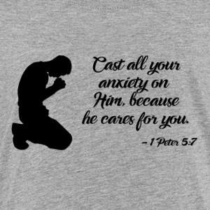 1 Peter 5:7 - Toddler Premium T-Shirt