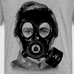 Gas mask Man - Toddler Premium T-Shirt