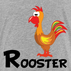 Cartoon Rooster - Toddler Premium T-Shirt