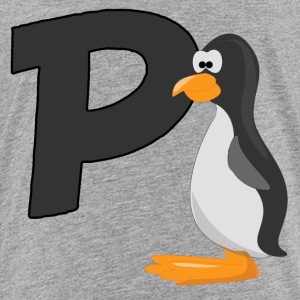P Is For Penguin - Toddler Premium T-Shirt