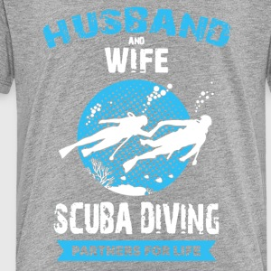 Husband And Wife Scuba Diving Partners Shirts - Toddler Premium T-Shirt