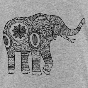 The elephant - Toddler Premium T-Shirt