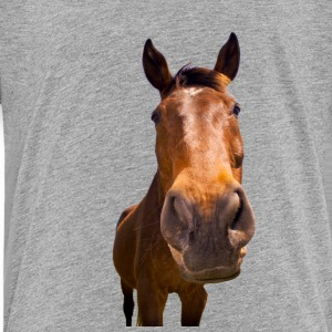 Horse, head - Toddler Premium T-Shirt