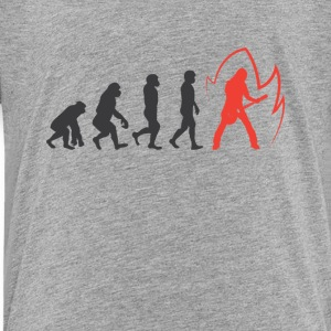 Evolution Of guitar Graphic Tee Shirt - Toddler Premium T-Shirt
