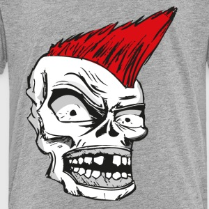 Punk Skull Comic Style - Toddler Premium T-Shirt