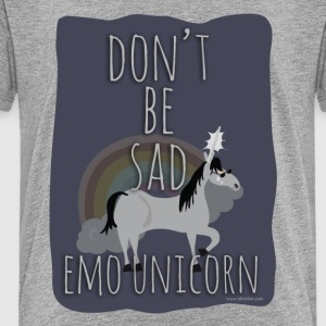 The Sad Emo Unicorn - Toddler Premium T-Shirt