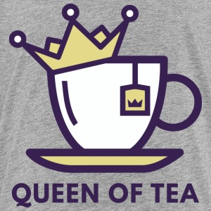 Queen Of Tea T Shirt - Toddler Premium T-Shirt