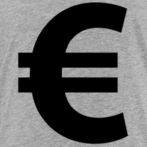 Euro Sign - Toddler Premium T-Shirt