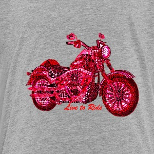Live to Ride - Toddler Premium T-Shirt