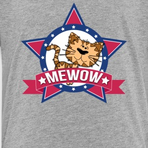 Funny Cat MeWOW Kitten Design - Toddler Premium T-Shirt