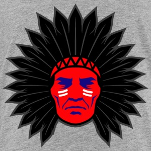 indian_chief_head_black - Toddler Premium T-Shirt