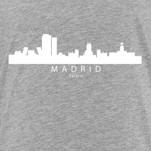 Madrid Spain Skyline - Toddler Premium T-Shirt