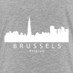 Brussels Belgium Skyline - Toddler Premium T-Shirt