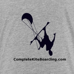 COMPLETE_KITE_BOARDING_kiter_b_and_w_gif - Toddler Premium T-Shirt
