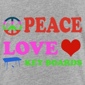 Peace love Keyboards - Toddler Premium T-Shirt