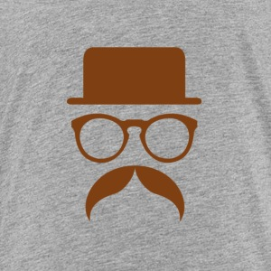 Hipster Brown - Toddler Premium T-Shirt