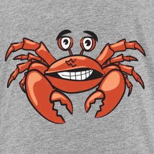 Funny crab comic style - Toddler Premium T-Shirt
