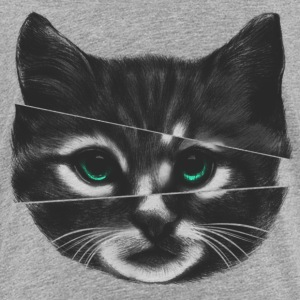 Glitch cat - Toddler Premium T-Shirt