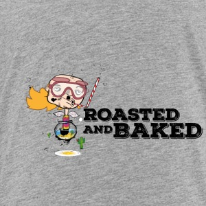 ROASTED AND BAKED Aquarium diver Baldhead - Toddler Premium T-Shirt