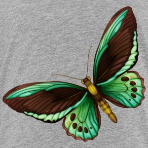 butterfly insect wildlife vector cartoon image art - Toddler Premium T-Shirt