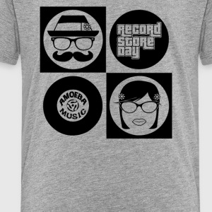 Hipsters Record - Toddler Premium T-Shirt