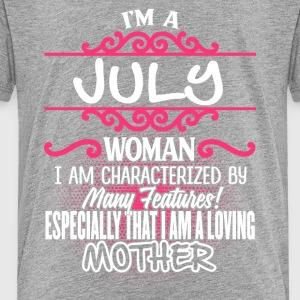 July Woman And Mother - Toddler Premium T-Shirt