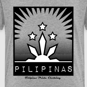 Filipino Pride. The symbol of the Philippines. - Toddler Premium T-Shirt