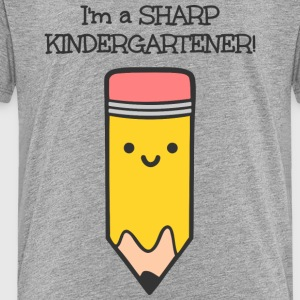 Sharp Kindergartener! - Toddler Premium T-Shirt