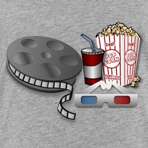 3D Cinema Movie Popcorn - Toddler Premium T-Shirt