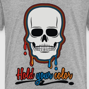 Color Skull - Toddler Premium T-Shirt