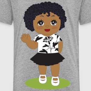 wave girl - Toddler Premium T-Shirt