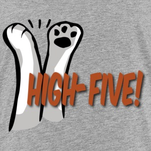 hi5 paws - Toddler Premium T-Shirt